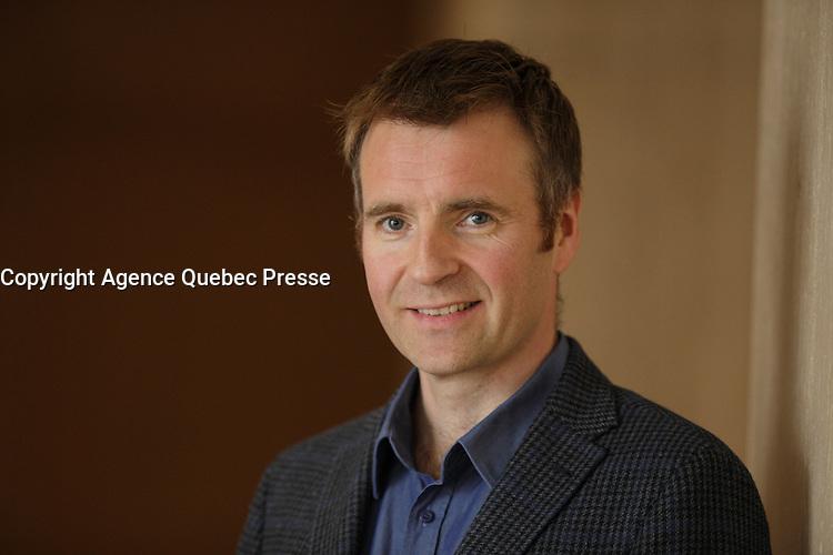 Le president-directeur general d'Ubisoft Montreal et Toronto prononce une allocution a la tribune du Cercle canadien de Montr&eacute;al, lundi 9 mai 2016.<br /> <br /> Yannis Mallat, President &amp; CEO of Ubisoft Montreal &amp; Toronto, delivers a speech to the Canadian Club of Montreal, Monday May 9, 2016.<br /> <br /> PHOTO : Pierre Roussel - Agence Quebec Presse