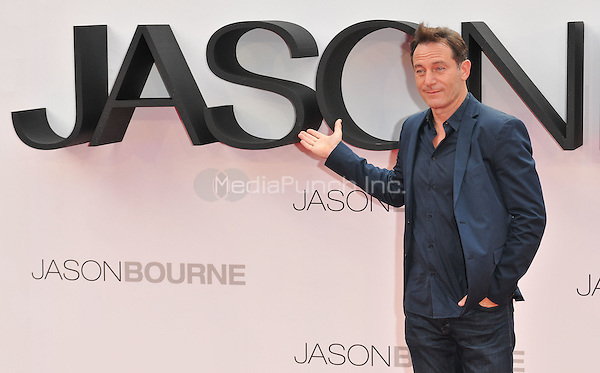 Jason Isaacs at the &quot;Jason Bourne&quot; European film premiere, Odeon Leicester Square cinema, Leicester Square, London, England, UK, on Monday 11 July 2016.<br /> CAP/CAN<br /> &copy;CAN/Capital Pictures /MediaPunch ***NORTH AND SOUTH AMERICAS ONLY***