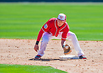 28 February 2016: Washington Nationals infielder Trea Turner in action during an inter-squad pre-season Spring Training game at Space Coast Stadium in Viera, Florida. Mandatory Credit: Ed Wolfstein Photo *** RAW (NEF) Image File Available ***