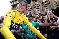 Picture by Simon Wilkinson/SWpix.com - 24/07/2016 - Cycling Tour de France Stage - 21, Chantilly - PARIS Champs Elysees - Team Sky Chris Froome wins the Tour de France