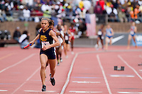 Michelle Davis  anchors for West Catholic to victory in the High School Girls' 4x400 Philadelphia Area at the Penn Relays on April 24. West Catholic ran in 3:48.48.