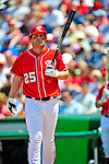 7 June 2009: Washington Nationals' outfielder Austin Kearns in action against the New York Mets at Nationals Park in Washington, DC. The Mets shut out the Nationals 7-0 to take the third game of the weekend series. Mandatory Credit: Ed Wolfstein Photo