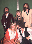 Fleetwood Mac 1978 John McVie Stevie Nicks Mick Fleetwood Christine McVie Lindsey Buckingham..© Chris Walter..