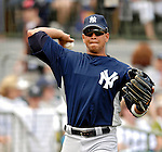 16 March 2007: New York Yankees third baseman Alex Rodriguez warms up prior to facing the Houston Astros at Osceola County Stadium in Kissimmee, Florida...Mandatory Photo Credit: Ed Wolfstein Photo