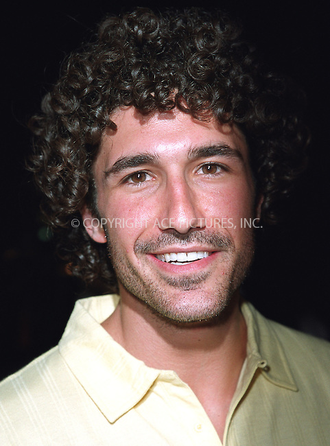 """""""Survivor"""" contest winner ETHAN ZOHN attending the New York Premiere of """"Austin Powers in Goldmember"""" at Barney's New York on Madison Avenue in New York. July 24, 2002. Please byline: Alecsey Boldeskul/NY Photo Press.   ..*PAY-PER-USE*      ....NY Photo Press:  ..phone (646) 267-6913;   ..e-mail: info@nyphotopress.com"""