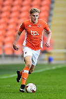 Blackpool's Brad Potts in action <br /> <br /> Photographer Richard Martin-Roberts/CameraSport<br /> <br /> The EFL Sky Bet League Two Play-Off Semi Final First Leg - Blackpool v Luton Town - Sunday May 14th 2017 - Bloomfield Road - Blackpool<br /> <br /> World Copyright &copy; 2017 CameraSport. All rights reserved. 43 Linden Ave. Countesthorpe. Leicester. England. LE8 5PG - Tel: +44 (0) 116 277 4147 - admin@camerasport.com - www.camerasport.com