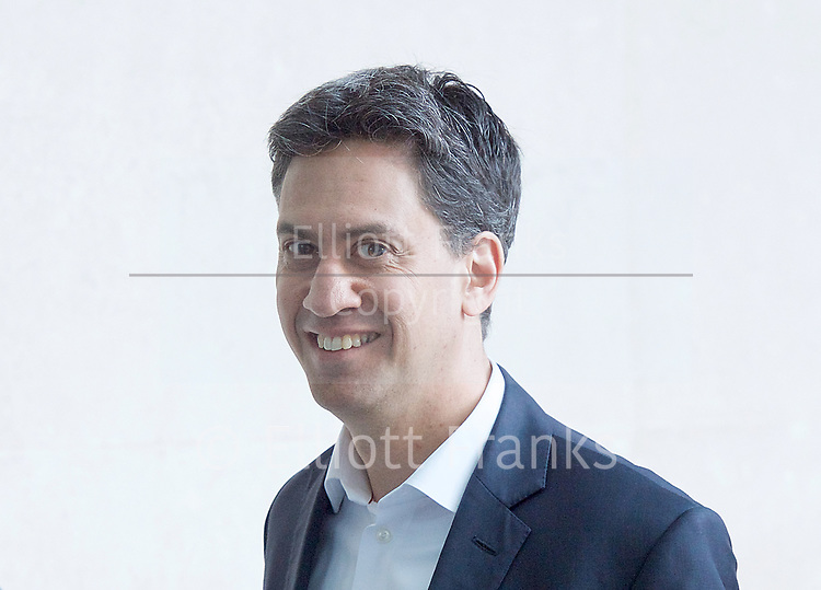 The Andrew Marr Show arrivals at the BBC, Broadcasting House, London, Great Britain <br /> 2nd April 2017 <br /> <br /> <br /> <br /> <br /> Ed Miliband MP<br /> former leader of the labour party <br /> <br /> Photograph by Elliott Franks <br /> Image licensed to Elliott Franks Photography Services