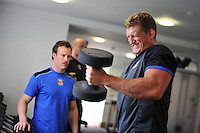 Bath Rugby gym session