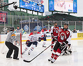 Terrence Wallin (UML - 9), Joe Gambardella (UML - 5), Matt Benning (NU - 5), Braden Pimm (NU - 14) - The Northeastern University Huskies defeated the University of Massachusetts Lowell River Hawks 4-1 (EN) on Saturday, January 11, 2014, at Fenway Park in Boston, Massachusetts.