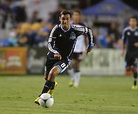 Santa Clara, Ca - Saturday, August 25, 2012: The San Jose Earthquakes defeated the Colorado Rapids 4-1 at Buck Shaw Stadium.