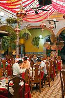 A fine MEXICAN RESTAURANT on the main plaza of DOLORES HIDALGO - GUANAJUATO, MEXICO