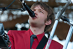 OK Go plays the Ad Astra stage at the First Annual Kanrocksas Music Festival.