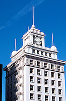 Portland: The Jackson Tower, corner Yamhill & Broadway, overlooking Pioneer Courthouse Square.
