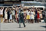 Nicaraguan civil war, February 1978.