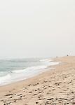 Beach landscape of Surfside Beach on Nantucket Island.