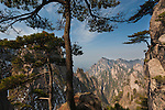 Huang Shan landscape, China