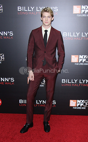 NEW YORK, NY-October 14:Joe Alwyn at NYFF54 Special Wortldf Premiere Presentation Billy Lynn's Halftime Walk at AMC Lincoln Square in New York.October 14 , 2016. Credit:RW/MediaPunch