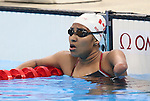 Rio de Janeiro-6/9/2016-Canadian swimmer Katarina Roxon trains at the Olympic Aquatics Stadium prior to the Paralympic Games in Rio. Photo Scott Grant/Canadian Paralympic Committee