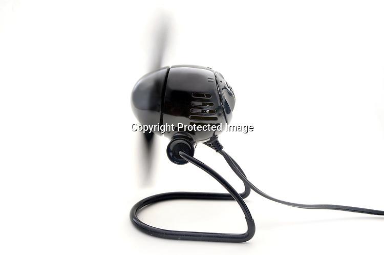 Stock photo of an electric fan