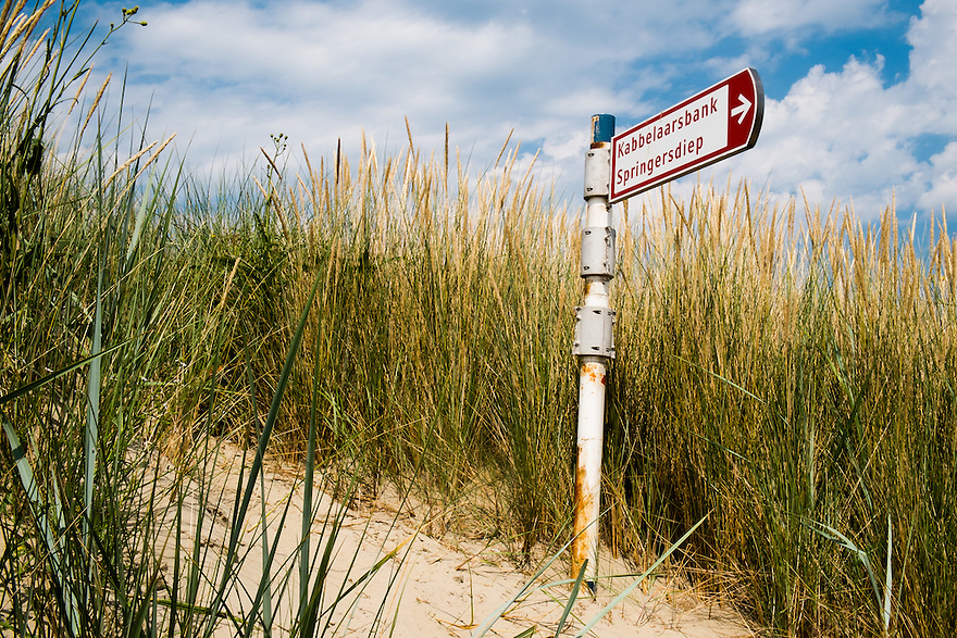 Nederland, Zeeland, 2 aug 2013<br /> Strand bij de Brouwersdam.  <br />  <br /> Foto(c): Michiel Wijnbergh