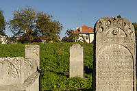 Poland, Krakow, Remuh Cemetery, Remuh Synagogue, Kazimierz