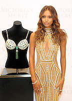 NEW YORK, NY - OCTOBER 26: Victoria's Secret Angel Jasmine Tookes unveils the $3 Million 2016 Bright Night Fantasy Bra at the new Victoria's Secret 5th Avenue store on October 26, 2016 in New York City. Photo by John Palmer/MediaPunch