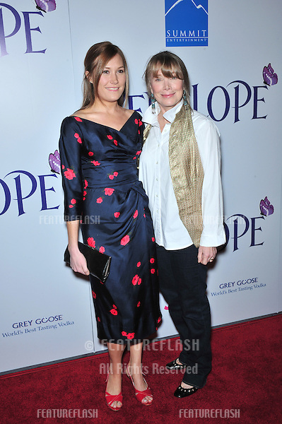 "Sissy Spacek (right) & daughter Schuyler Fisk at the Los Angeles premiere of ""Penelope"" at the Directors Guild Theatre, West Hollywood..February 20, 2008  Los Angeles, CA.Picture: Paul Smith / Featureflash"