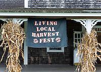 Martha's Vineyard Agriculture Society Living Local Harvest Fest, West, Tisbury, Massachusetts, USA