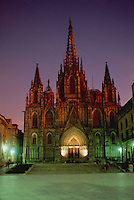 Illuminated Cathedral