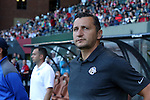 19 June 2015: Kansas City head coach Vlatko Andonovski (MKD). The Portland Thorns FC hosted FC Kansas City at Providence Park in Portland, Oregon in a National Women's Soccer League 2015 regular season match. The game ended in a 1-1 tie.