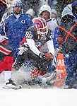 3 January 2010: Buffalo Bills' tight end Jonathan Stupar in action against the Indianapolis Colts during a cold, snowy, final game of the season at Ralph Wilson Stadium in Orchard Park, New York. The Bills defeated the Colts 30-7. Mandatory Credit: Ed Wolfstein Photo