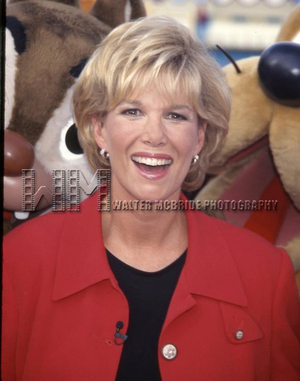 Joan Lunden attending the Walt Disney World 25th Anniversary on October 15, 1996 in Orlando, Florida.