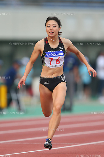 Kana Ichikawa, <br /> SEPTEMBER 22, 2013 - Athletics : <br /> The 61st All Japan Industrial Athletics Championship <br /> Women's 100m <br /> at Kumagaya Sports Culture Park Athletics Stadium, Saitama, Japan. <br /> (Photo by YUTAKA/AFLO SPORT) [1040]