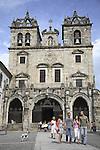 Main Facade of Se Cathedral, Braga, Portugal