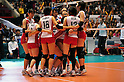 Japan Women's Volleyball Team Group (JPN), NOVEMBER 17,2011 - Volleyball : FIVB Women's Volleyball World Cup 2011,4th Round Tokyo(A) during match between Japan 3-2 Germany at 1st Yoyogi Gymnasium, Tokyo, Japan. (Photo by Jun Tsukida/AFLO SPORT) [0003]