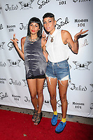 Natalie Albino and Nicole Albino of Nina Sky attend Inked Magazine release party celebrating August issue, New York. July 17, 2012 © Diego Corredor/MediaPunch Inc.