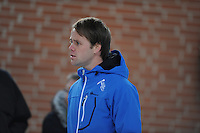 SCHAATSEN: DEVENTER: IJsbaan De Scheg, 27-10-12, IJsselcup, trainer Johan de Wit (Project 2018), ©foto Martin de Jong