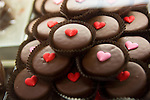 Valentine's Day themed homemade chocolates are one of many sweet treats being offered at Gourmet Works.