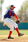 18 March 2006: Joey Eischen, pitcher for the Washington Nationals,on the mound during a Spring Training game against the New York Mets at Space Coast Stadium, in Viera, Florida. The Nationals defeated the Mets 10-2 in Grapefruit League play...Mandatory Photo Credit: Ed Wolfstein Photo..