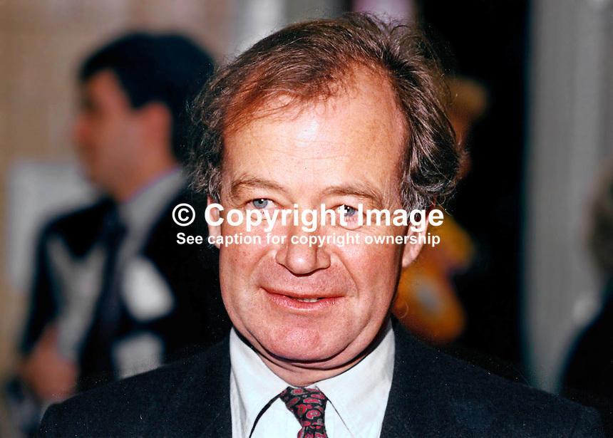 Kenneth Carlisle, MP, Conservative Party, UK, Westminster Parliament, junior minister, Treasury, 19891058/KC.<br />