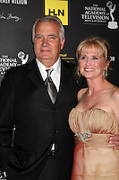 LOS ANGELES - JUN 23:  John McCook, Laurette Spang McCook arrives at the 2012 Daytime Emmy Awards at Beverly Hilton Hotel on June 23, 2012 in Beverly Hills, CA