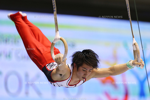 Ryohei Kato (JPN), .April 6, 2013 - Artistic Gymnastics : .FIG Artistic Gymnastics World Cup, Tokyo Cup 2013 .Men's Individual All-round 1st Day .at Komazawa Gymnasium, Tokyo, Japan. .(Photo by Daiju Kitamura/AFLO SPORT) [1045]