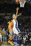 UK redshirt sophomore point guard Jennifer O'Neil shooting the ball during the second half of the women's basketball game vs. Tennessee at Memorial Coliseum on Sunday, March 3, 2013, in Lexington, Ky. Photo by Kalyn Bradford | Staff