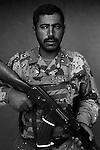 Staff Sgt. Bakir Aref Abdel Nabi, 30, Nasiriyah, Old Iraqi Army, 4th Co., 2nd Battalion, 7th Division of the Iraqi Army in Haditha, Iraq on Sun. Nov. 27, 2005.