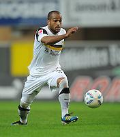 Fussball, 2. Bundesliga 2010/11: SC Paderborn 07 - Alemannia Aachen mit David Odonkor