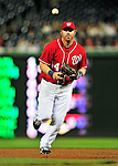 23 April 2010: Washington Nationals' first baseman Adam Dunn in action against the Los Angeles Dodgers at Nationals Park in Washington, DC. The Nationals defeated the Dodgers 5-1 in the first game of their 3-game series. Mandatory Credit: Ed Wolfstein Photo