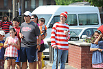 Waldo attends the 4th of July parade in Oxford, Miss. on Wednesday, July 4, 2012.