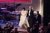 Vice President -elect of The United States Mike Pence and his wife Karen Pence arrive at a &quot;Candlelight&quot; dinner to thank donors in Washington, DC, January 19, 2017. <br /> Credit: Chris Kleponis / Pool via CNP