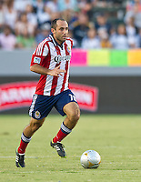CARSON, CA - July 21, 2012: Chivas USA midfielder Nick LaBrocca (10)  during the LA Galaxy vs Chivas USA match at the Home Depot Center in Carson, California. Final score LA Galaxy 3, Chivas USA 1.