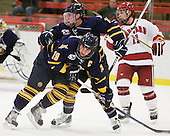 Scott Zurevinski (Quinnipiac - 19), Yuri Bouharevich (Quinnipiac - 13) - The visiting Quinnipiac University Bobcats defeated the Harvard University Crimson 3-1 on Wednesday, December 8, 2010, at Bright Hockey Center in Cambridge, Massachusetts.